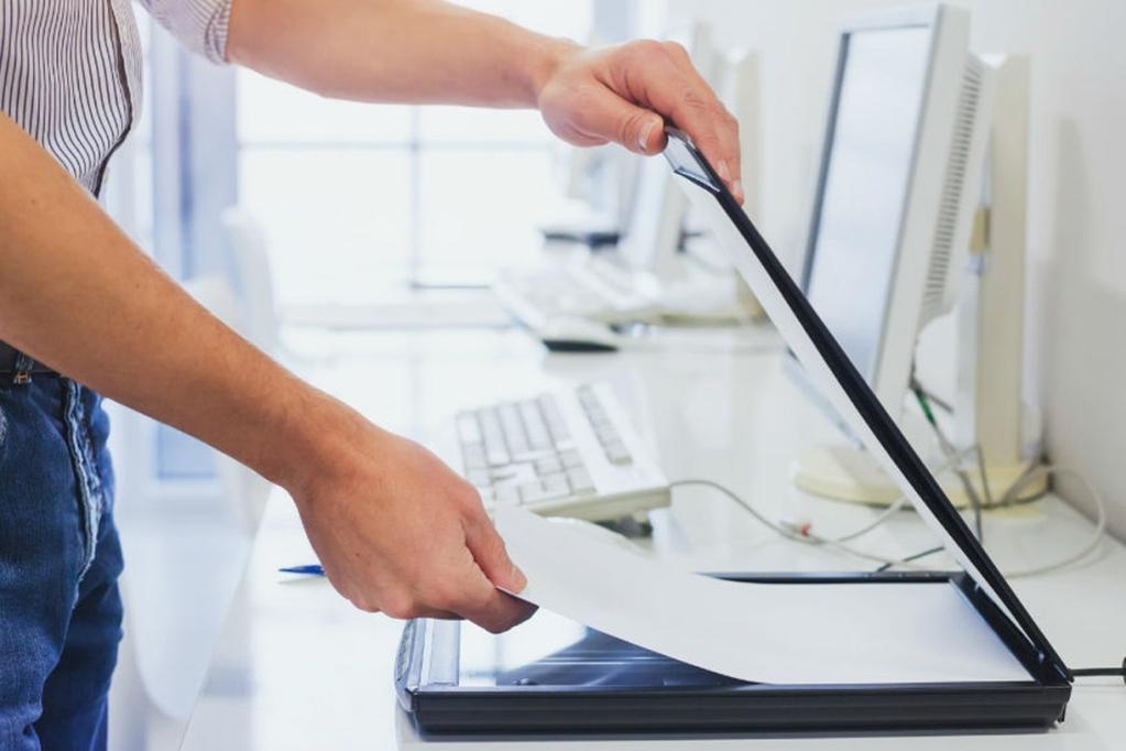 Перед составлением заявления потребуется отсканировать документы