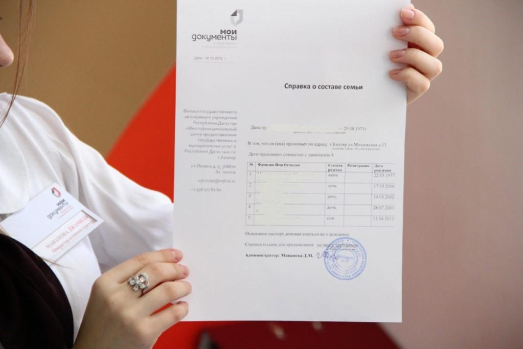Для получения документа придется посетить отделение МФЦ